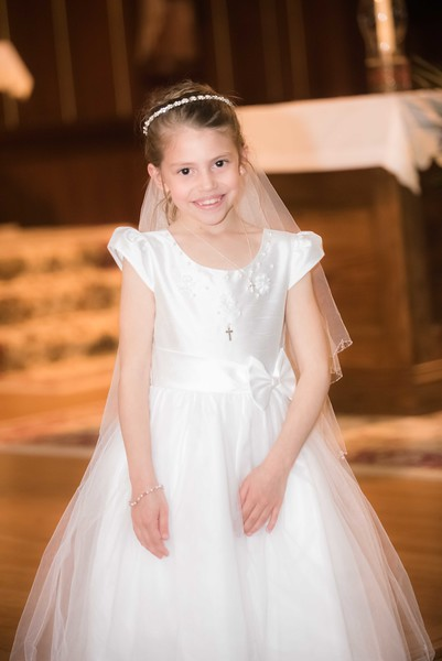 Amelia's First Holy Communion