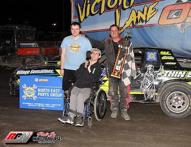 Orange County Fair Speedway - 8/7/21 - Mike Traverse