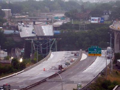 I-35W Bridge Collapse in Minnesota