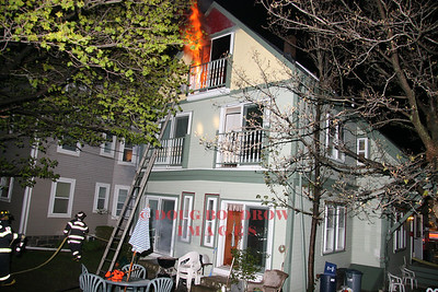 Winthrop, MA - Working Fire, 65 Beacon Street, 5-2-08