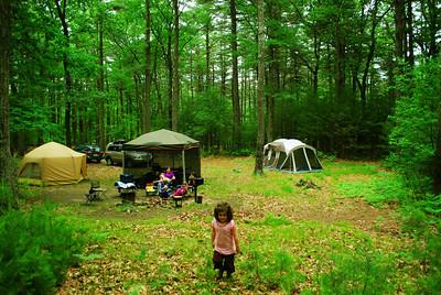 Camping at Harold Parker