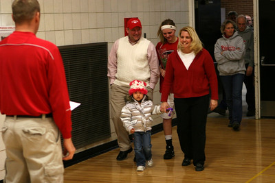 Girls Varsity Basketball - 2008-2009 - 2/19/2009 Fruitport (Parent's Night)