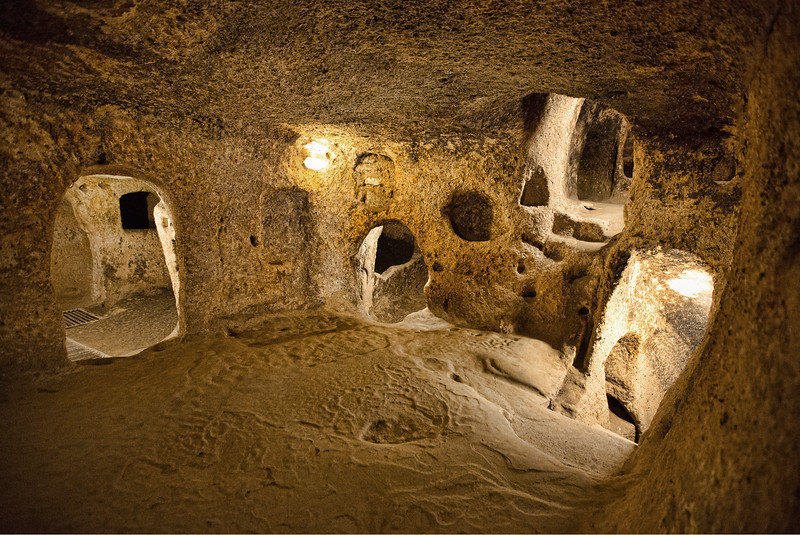 Kaymakli Underground City - Cappadocia, Turkey