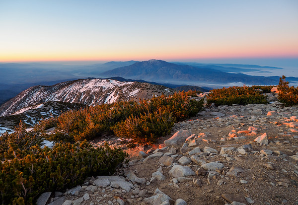 Overnight on the Summit of San Gorgonio Peak  6-7-19