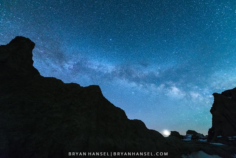 Venus Rising and the Milky Way