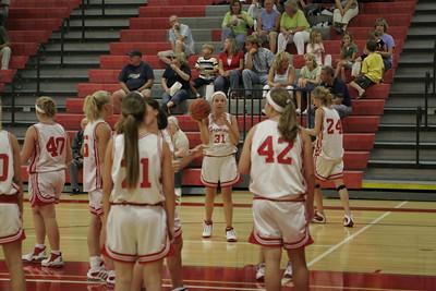 Girls Freshman Basketball - 2006-2007 -  9/5/2006 Fruitport