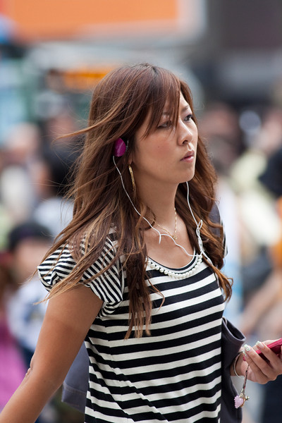 Japan 2009 Tokyo Street Portraits (Daytime)
