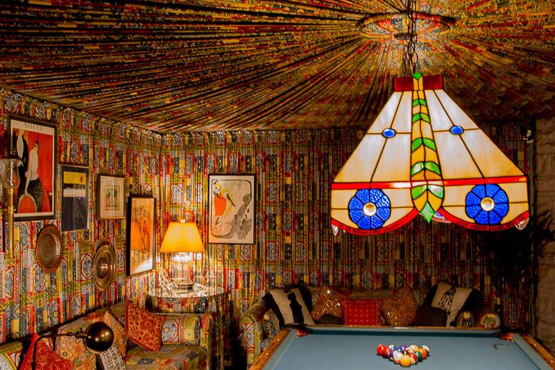 October 7 - Elvis Presley's pool room.jpg