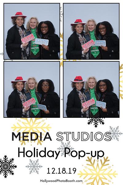 Media Studios Holiday Pop up