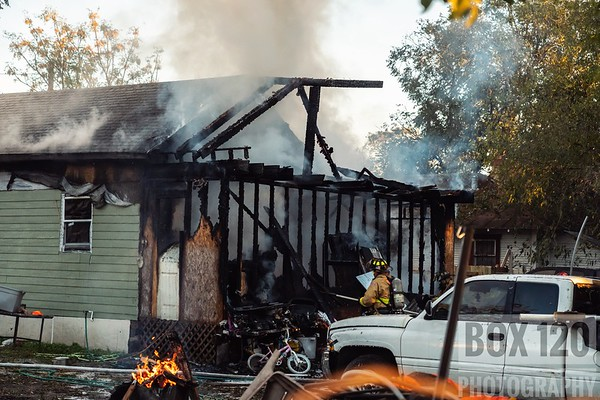 Structure Fires - Multiple Locations, San Antonio, TX - Month of November 2018