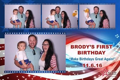 Brody's First Birthday