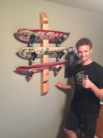 2105 Rob's Skateboard Rack