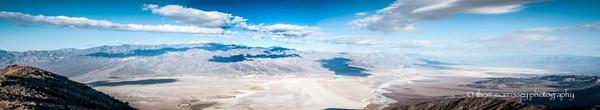 Panoramic from Dante's Peak