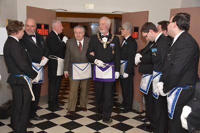 RW John E. Kelley Fraternal Visit to Lynfield Zetland Lodge
