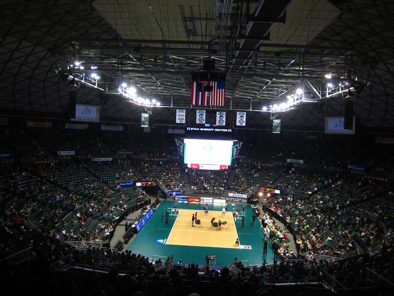 Hawaii - Wahine Volleyball Game-2.JPG