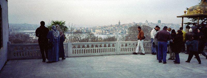 Sultan Ibrahim balcony