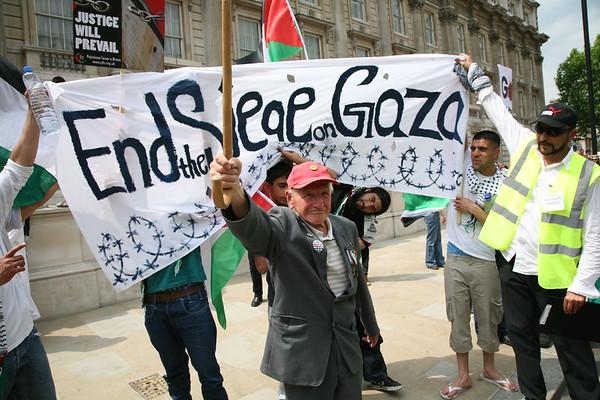 Gaza Demo  - London June 2010