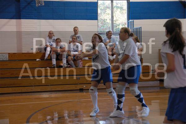7-8th volleyball v. south beloit 9.9.08