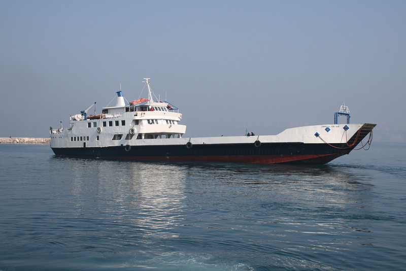 F/B CASAMICCIOLA TERME PRIMO departing from Procida to Pozzuoli.