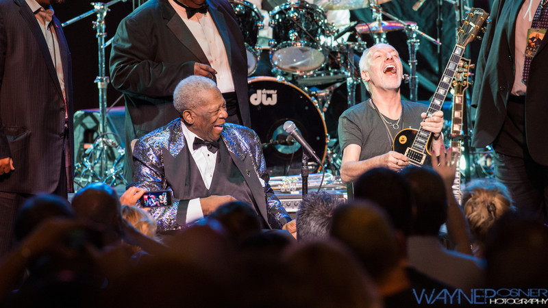 BB King and Peter Frampton at The LVH