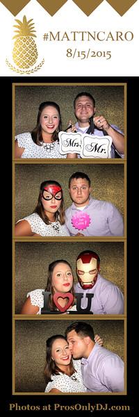 #mattncaro Wedding 8-15-15