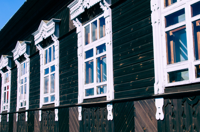 Windows in Minsk, Belarus