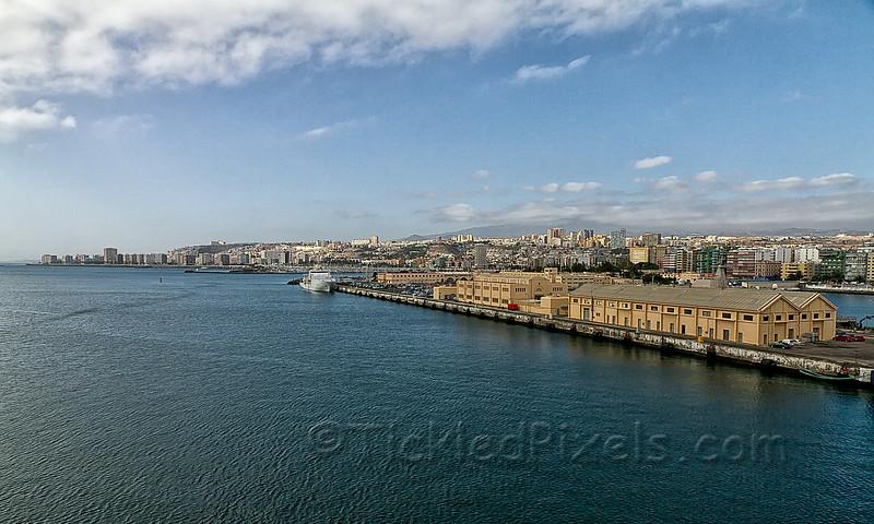 Las Palmas Harbourfront, Gran Canaria
