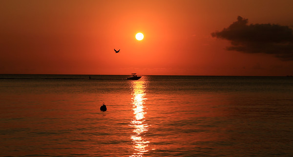 2016 April Cayman Island Sunset Pictures
