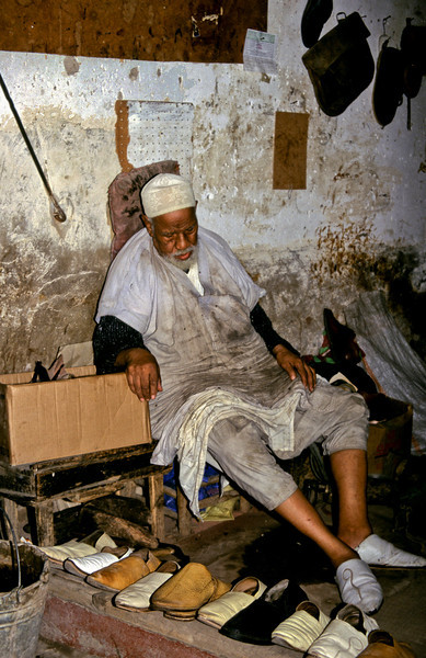 Cobbler in the Medina.