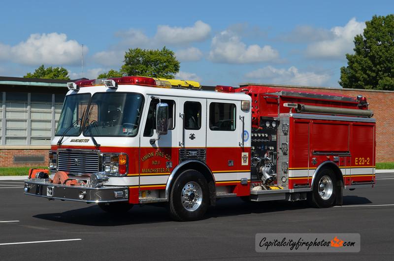 Manchester Engine 23-2: 2003 American LaFrance Eagle 1250/1000 (X-Salisbury, MD)