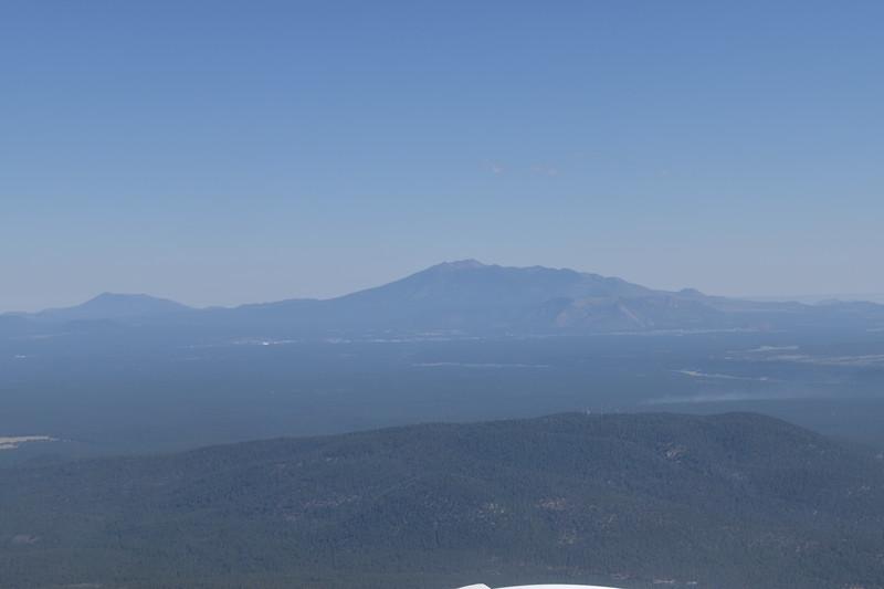 Flagstaff, AZ and San Francisco Peak