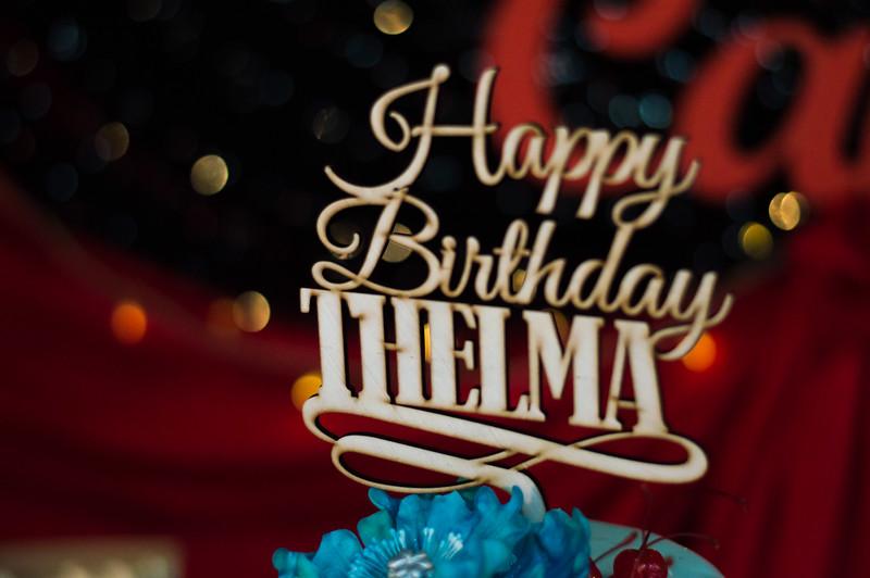 Thelma's 50th Birthday