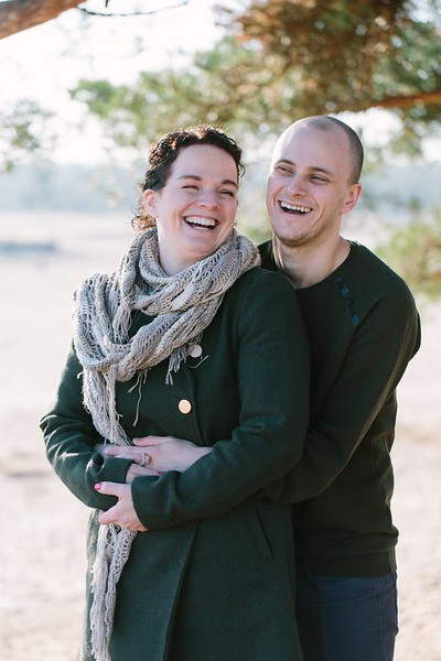 Jennifer en Michael | Love-shoot Soesterduinen