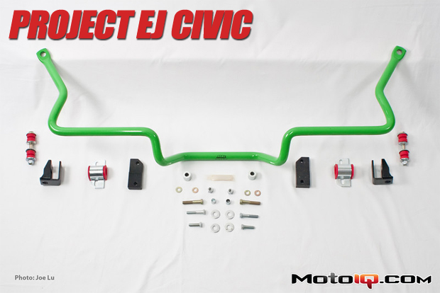 Project Honda Civic Energy Suspension ST Sway Bar Install