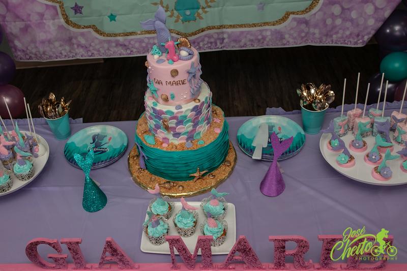 Mia Marie's 1st Birthday
