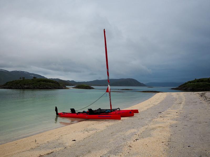 Hobie Kayak in Sommarøy
