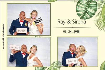 Sirena and Ray Wedding