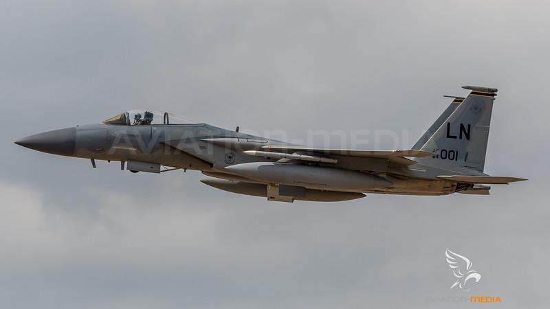 USAF 493 FS / McDonnell Douglas F-15C Eagle / 84-0001 LN