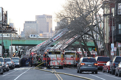 Boston, MA - 3rd Alarm, 136 Chelsea Street, 3-19-11