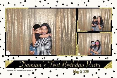 Damian's 1st birthday