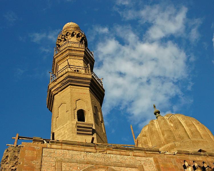 mosque under repair