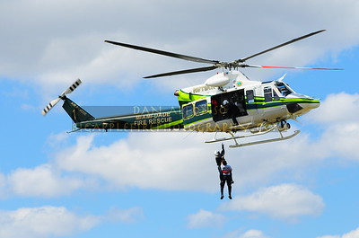 Miami Dade Fire Rescue Air Rescue Demonstration