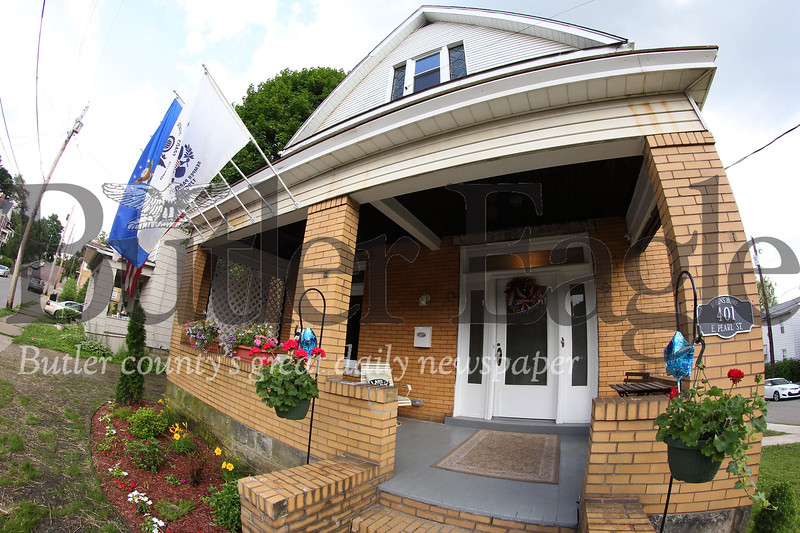 Robin's Home for female veterans transitioning from active duty. The newly renovated Butler home hosted an open house Friday. The building will host its first resident next week. Seb Foltz/Butler Eagle