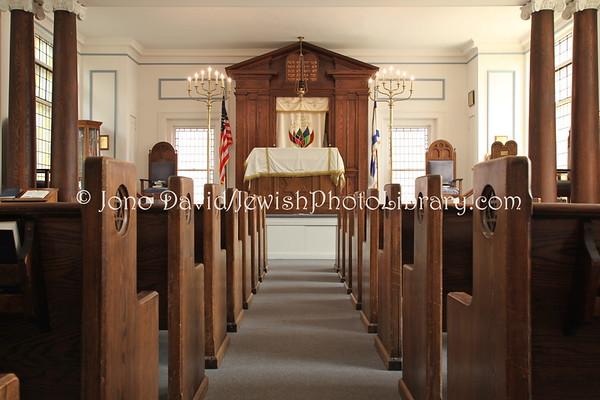 USA, Maryland, Frederick. Beth Sholom (Historic) Synagogue. (2009)