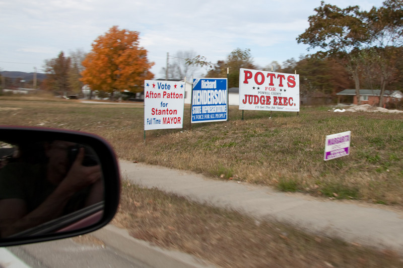 In Kentucky they Vote for everything