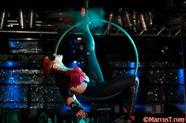 May 2010 - Torture Garden Italy - Main Event - Roxy Velvet & Kitty Bang Bang