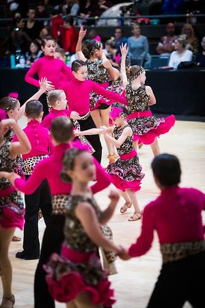 28 Pre-Teen Latin Formation