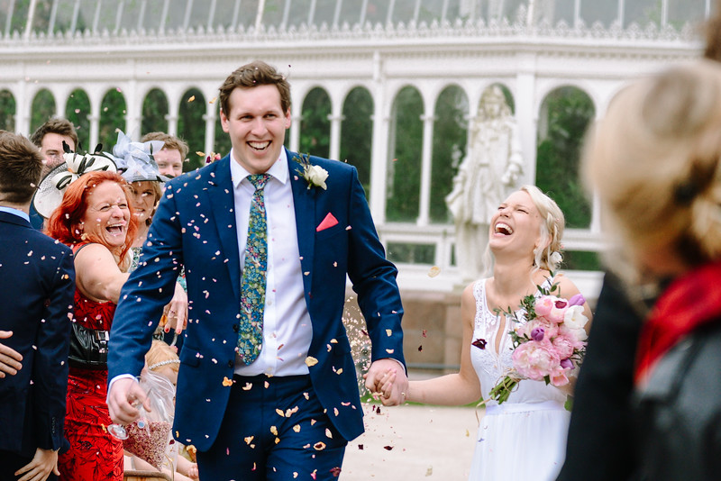Imogen and Will - Sefton Park Palm House