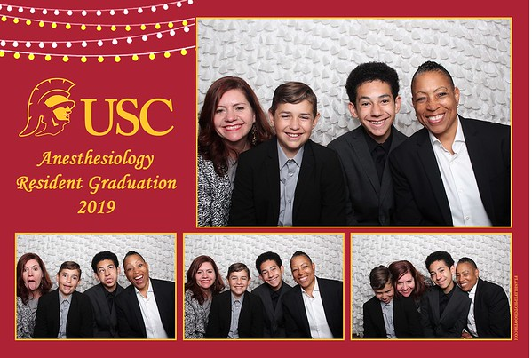 USC Anesthesiology Resident Graduation 2019
