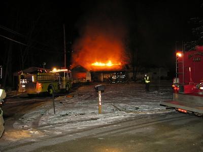 12-23-09 West Lafayette FD Battles House Fire
